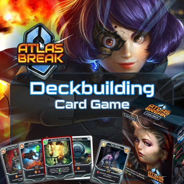 Atlas Break Deckbuilding Card Game